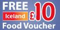 Free �10 Iceland Voucher & �30 Bingo cash