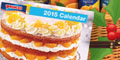 Free Princess Food 2015 Calendar