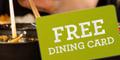 Free Gormet Society Discount Dining Card