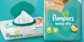 Free Pampers Baby Dry Nappies & Wet Wipes