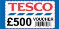 Win £500 Tesco Vouchers