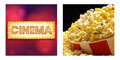 Free Cinema Tickets, Popcorn and Drink