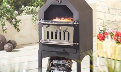 win an outdoor pizza oven with aldi. Black Bedroom Furniture Sets. Home Design Ideas