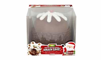 free asda christmas pudding smash cake. Black Bedroom Furniture Sets. Home Design Ideas