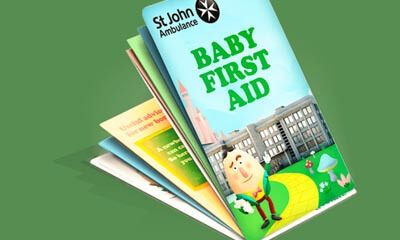 Free Baby First Aid Pocket book