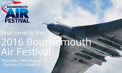 Free Entry to Bournemouth Air Show
