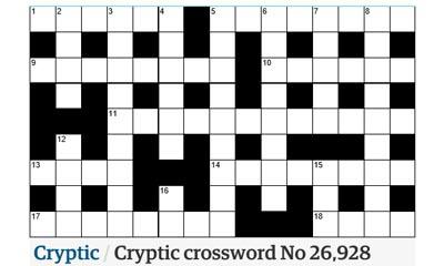 Free Printable Crossword Puzzles