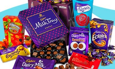 Click here<br />Win  Cadbury Hamper