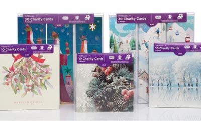 WHSmith 12 Days Of Christmas Charity Christmas Cards Pack of 10
