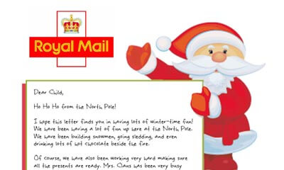 Free santa letter from royal mail free stuff freebies free expired free santa letter from royal mail spiritdancerdesigns Images