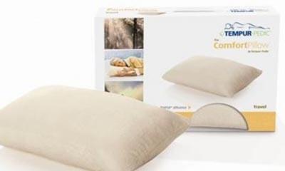 FREE Tempur Comfort Travel Pillow