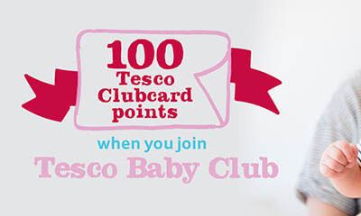 Free Tesco ClubCard Point for Joining Tesco Baby Club
