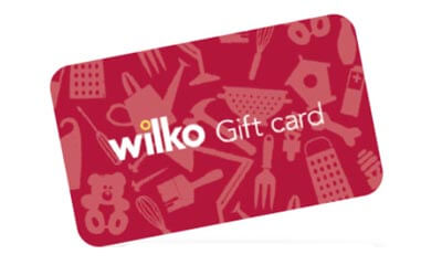 Win 1 of 5 �200 Wilko Vouchers