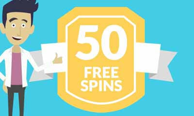 Free 50 Spins (No Deposit Required)