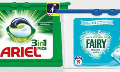 Free Ariel & Fairy Detergent from Waitrose