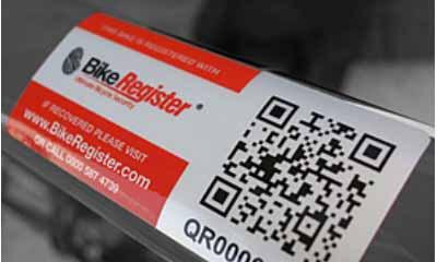 Free Bike Security Marking Kits