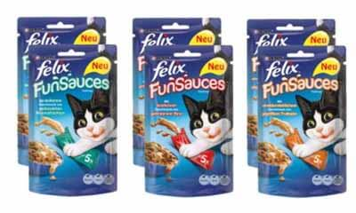 Free Felix FunSauce Cat Food