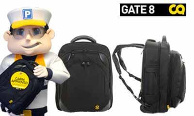 Win a Gate 8 Cabin Mate Luggage