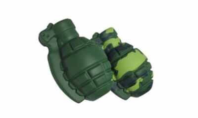 Free Grenade Stress Ball