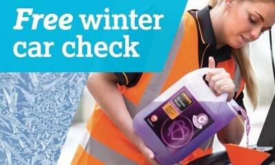 Free Halfords Winter Car Health Check
