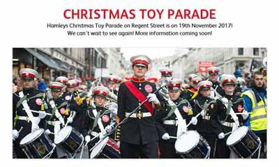 Free Hamleys Toy Parade 2017
