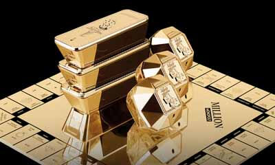 Free Paco Rabanne Golden Monopoly Board Game