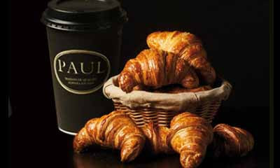 Free Croissant & Coffee from Paul Bakery
