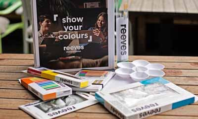 Win a Reeves Watercolour and Brush Set