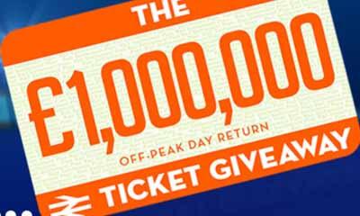 Free ScotRail Off-Peak Day Return Train Tickets