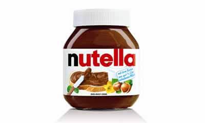 Free Jar of Nutella Hazelnut Chocolate Spread