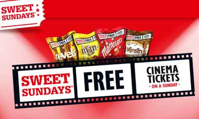 Free Cinema Tickets on Sundays with Mars