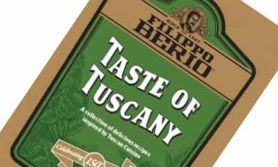 Free Taste Of Tuscany Recipe Book
