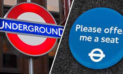 Free Offer Me a Seat Badge from TFL