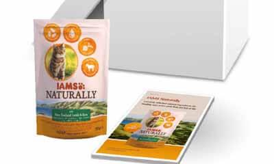 Free IAMS Naturally Cat Food Kit