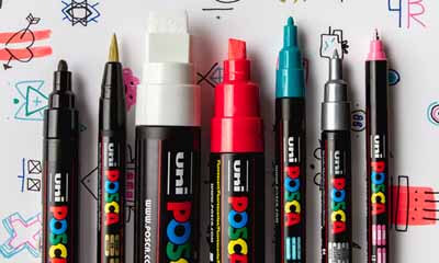 Free Uniball Posca Pens