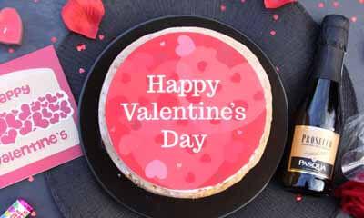 Free Sponge Cake Valentine's Gift Box