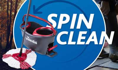 Free Vileda Easy Wring Clean Turbo Sets