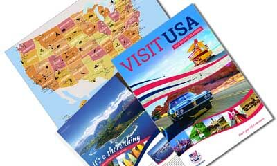 Free USA Map & Travel Planner