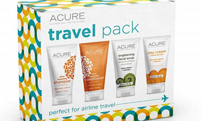 Free Skincare Travel Pack