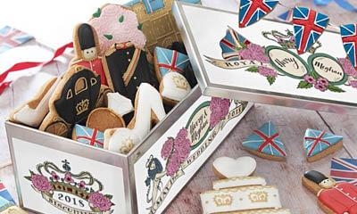 Free Biscuiteers Royal Wedding Luxe Biscuit Tin