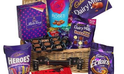 Free Chocolate Hamper from Cadbury