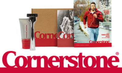 £10 off Personalised Cornerstone Razor Set + 6 Blades