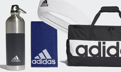 Free Adidas Water Bottles and Bags