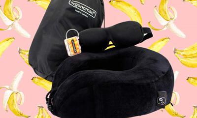 Free ergonomad Travel Comfort Kit