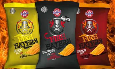 Free Fire Eaters Seabrook Crisps