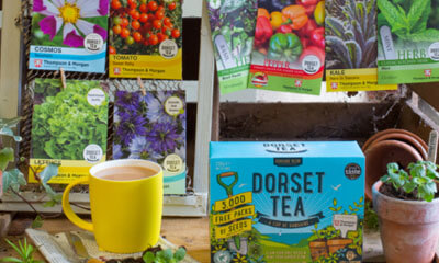 Free Thompson & Morgan Seeds from Dorset Tea