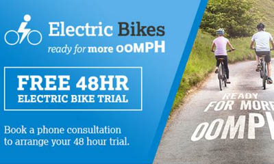Free 48 Hour Eelctric Bike Trial from Halfords