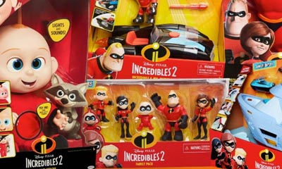 Win an Incredibles 2 Toy Bundle