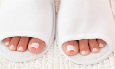 Free Fleece Towelling Slippers