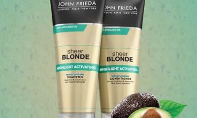 Free John Frieda Sheer Blonde Highlight Activator